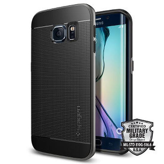 Coque et housse Spigen Coque Neo Hybrid (gris) - Galaxy S6 Edge