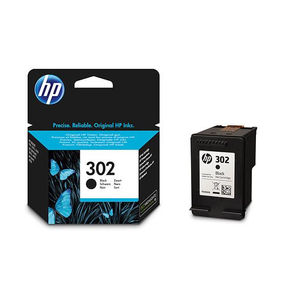 Cartouche imprimante HP Cartouche d'encre n°302 (F6U66AE) - Noir
