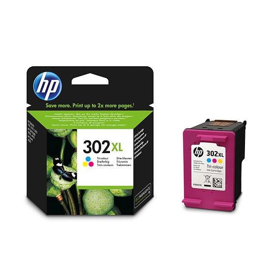 Cartouche imprimante HP Cartouche d'encre n°302XL (F6U67AE) - 3 couleurs