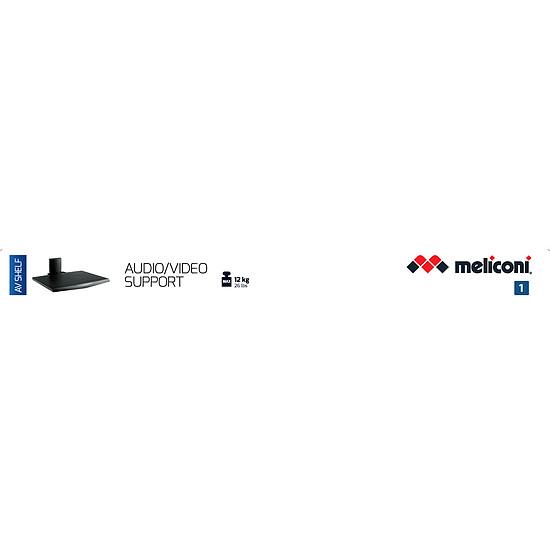 Support TV Meliconi AV-SHELF Noir - Autre vue
