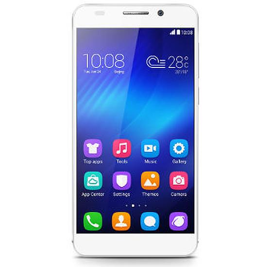 Smartphone et téléphone mobile Honor 6 (blanc)