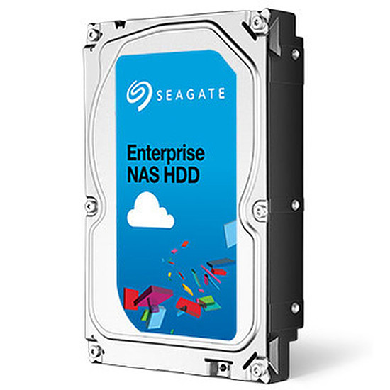 Disque dur interne Seagate Enterprise NAS HDD - 4 To