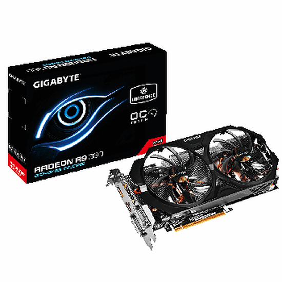 Carte graphique Gigabyte Radeon R9 380 WindForce 2 OC - 2 Go