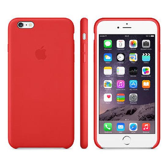 Coque et housse Apple Coque Leather Case iPhone 6 - rouge
