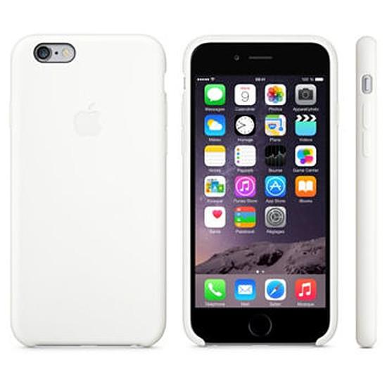 Coque et housse Apple Coque Silicone Case iPhone 6 - blanc
