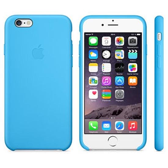 Coque et housse Apple Coque Silicone Case iPhone 6 - bleu
