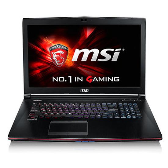PC portable MSI GE72 2QF-216XFR - i7 - SSD - GTX 970M - Sans OS