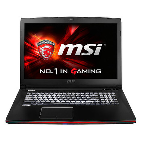 PC portable MSI GE72 2QC-232FR - i7- 8 Go - 1 To - GTX 960M