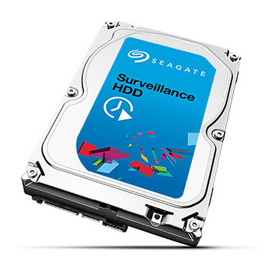 Disque dur interne Seagate Surveillance HDD +Rescue - 4 To