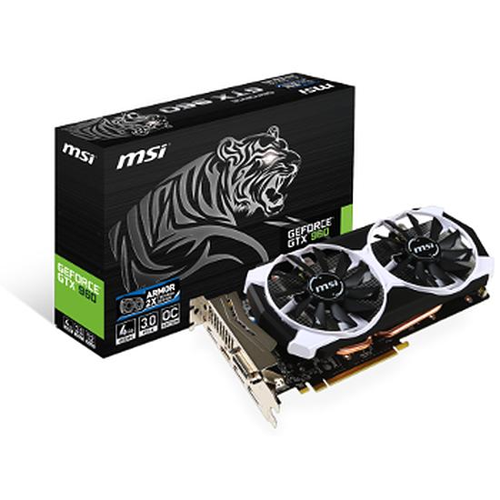 Carte graphique MSI GeForce GTX 960 OC - 4 Go