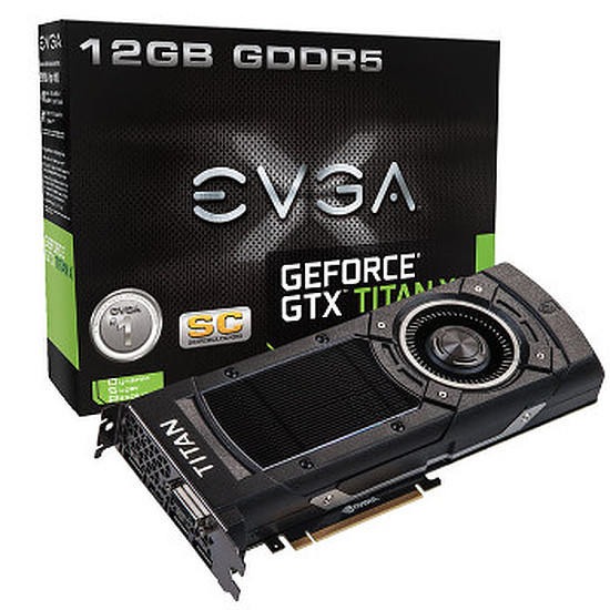 Carte graphique EVGA GeForce GTX Titan X Superclocked - 12 Go