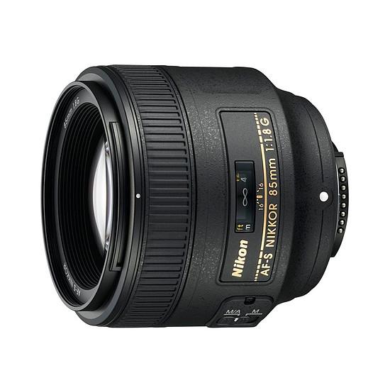 Objectif pour appareil photo Nikon AF-S 85mm f/1.8 G