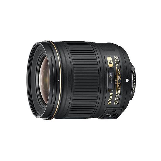 Objectif pour appareil photo Nikon AF-S 28mm f/1.8 G