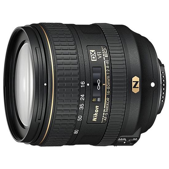 Objectif pour appareil photo Nikon AF-S DX 16-80mm f2.8/4E ED VR