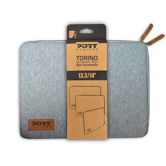 Sac, sacoche et housse Port Skin Torino pour PC Portable 13/14'' gris - Autre vue
