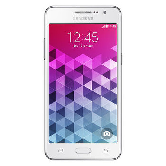 Smartphone et téléphone mobile Samsung Galaxy Grand Prime Value Edition (blanc)
