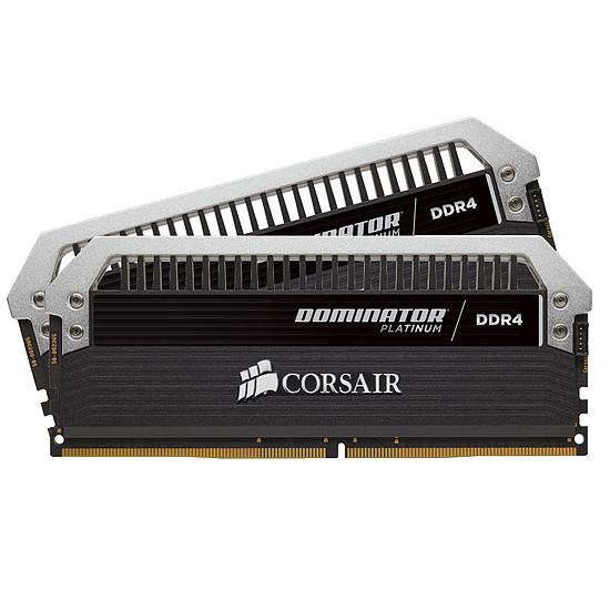 Mémoire Corsair Dominator Platinum DDR4 2 x 8 Go 3000 MHz CAS 15
