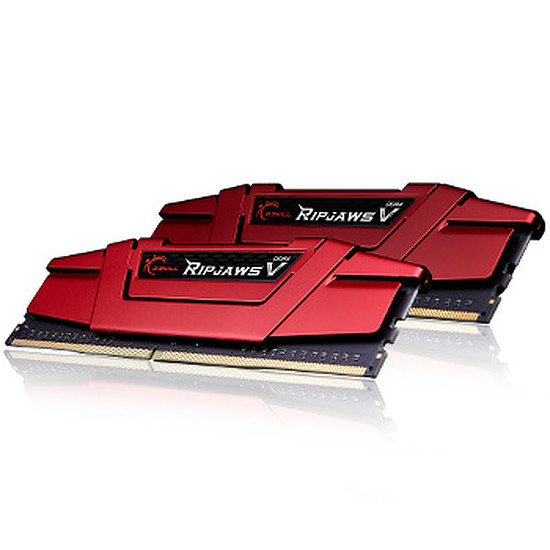 Mémoire G.Skill Ripjaws V Red DDR4 2 x 4 Go 3000 MHz CAS 15