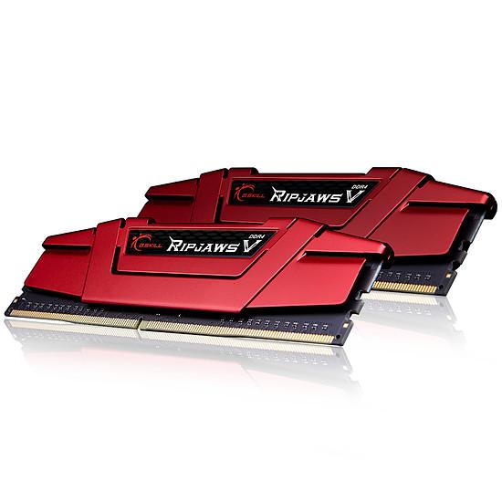 Mémoire G.Skill Ripjaws V Red DDR4 2 x 4 Go 3000 MHz CAS 15  - Autre vue