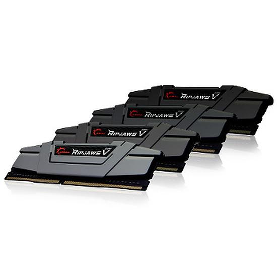 Mémoire G.Skill Ripjaws V Black DDR4 4 x 8 Go 3200 MHz CAS 16