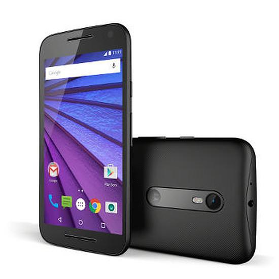 Smartphone et téléphone mobile Motorola Moto G 3ème génération - (noir)