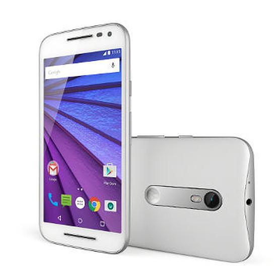 Smartphone et téléphone mobile Motorola Moto G 3ème génération - (blanc)