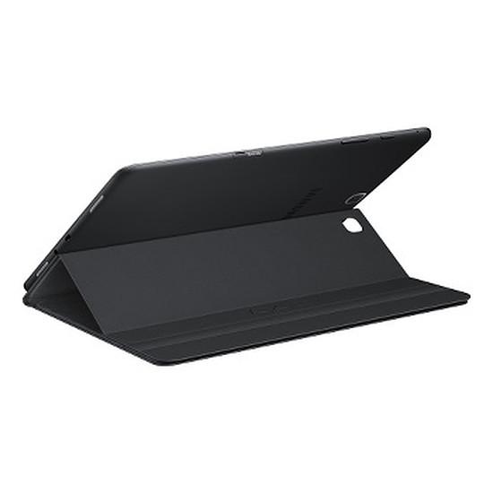 Accessoires tablette tactile Samsung Étui Book Cover - Galaxy Tab A  - Noir