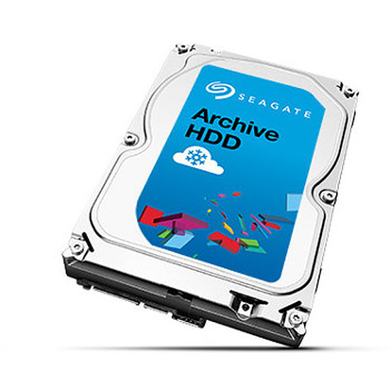 "Disque dur interne Seagate Archive 3.5"" HDD - 8 To"