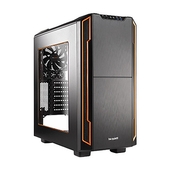Boîtier PC Be Quiet Silent Base 600 Window - Orange