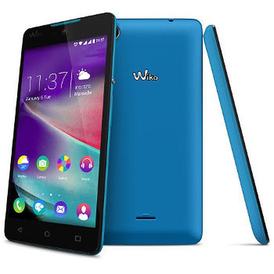 Smartphone et téléphone mobile Wiko Rainbow Lite 4G (bleu)