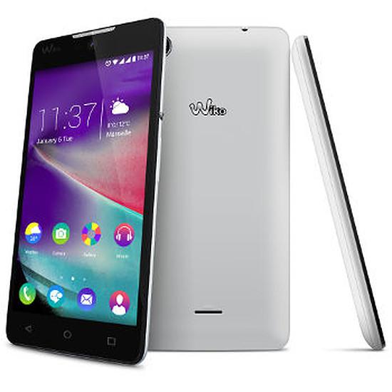 Smartphone et téléphone mobile Wiko Rainbow Lite 4G (blanc)