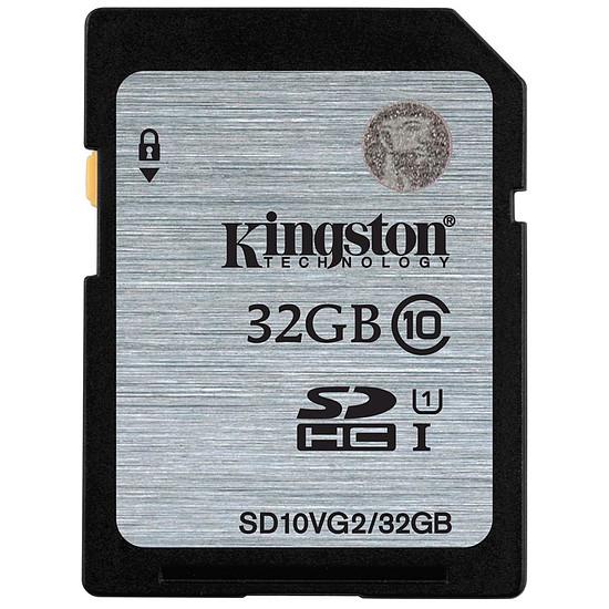 Carte mémoire Kingston SDHC 32 Go (45Mo/s)