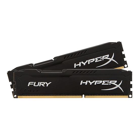 Mémoire HyperX Fury Black DDR4 2 x 4 Go 2400 MHz CAS 15