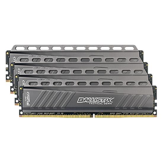 Mémoire Ballistix Tactical DDR4 4 x 4 Go 2666 MHz CAS 16