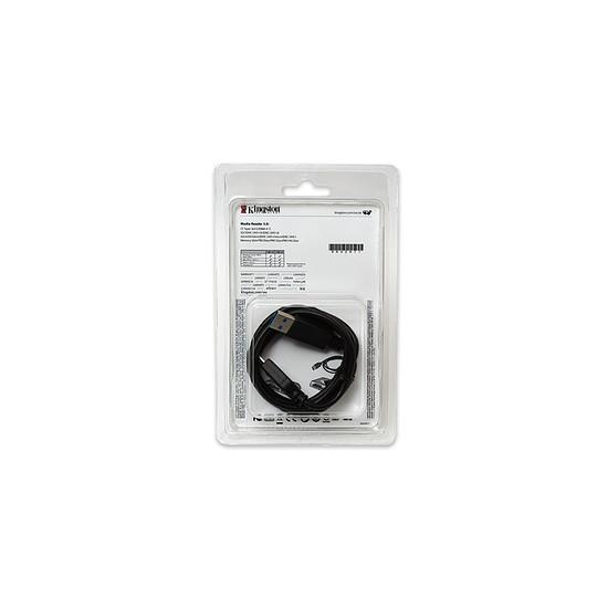 Lecteur de carte mémoire Kingston Lecteur média USB 3.0 à haut débit FCR-HS4 - Autre vue