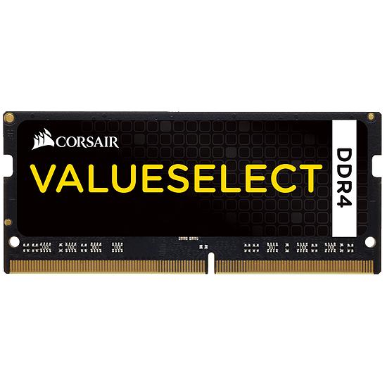 Mémoire Corsair ValueSelect SO-DIMM DDR4 4 Go 2133 MHz CAS 15