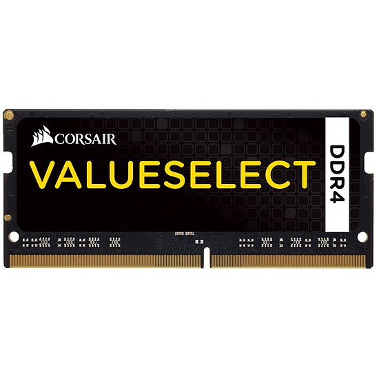 Mémoire Corsair ValueSelect SO-DIMM DDR4 8 Go 2400 MHz CAS 16