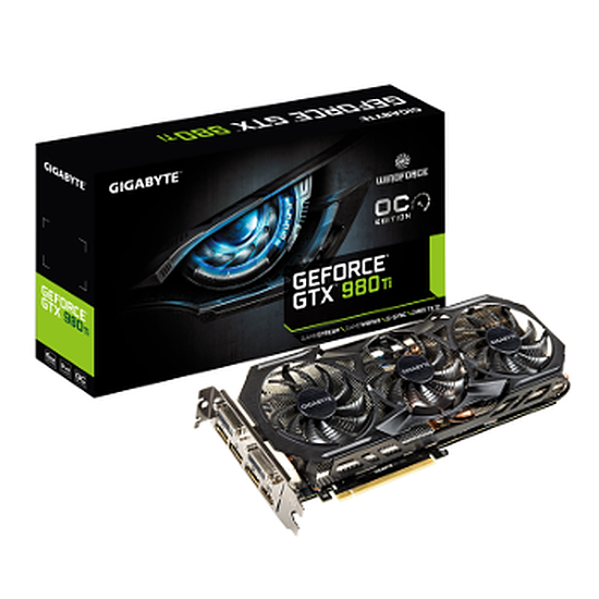 Carte graphique Gigabyte GeForce GTX 980 Ti WindForce 3 OC - 6 Go