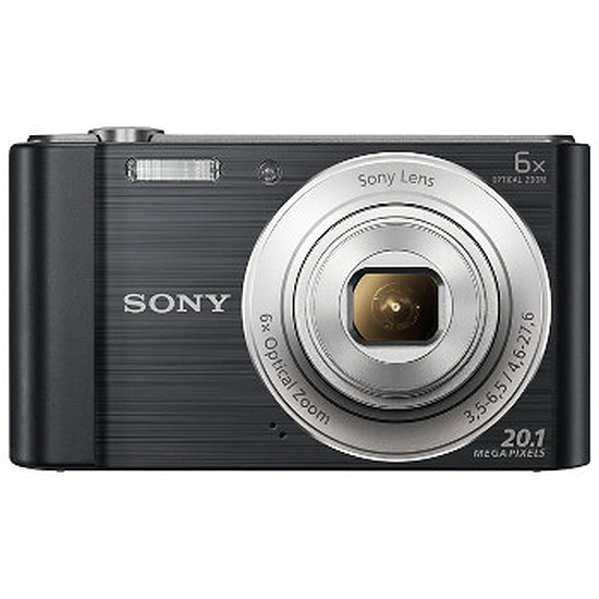 Appareil photo compact ou bridge Sony CyberShot DSC-W810 Noir + carte SD 8Go