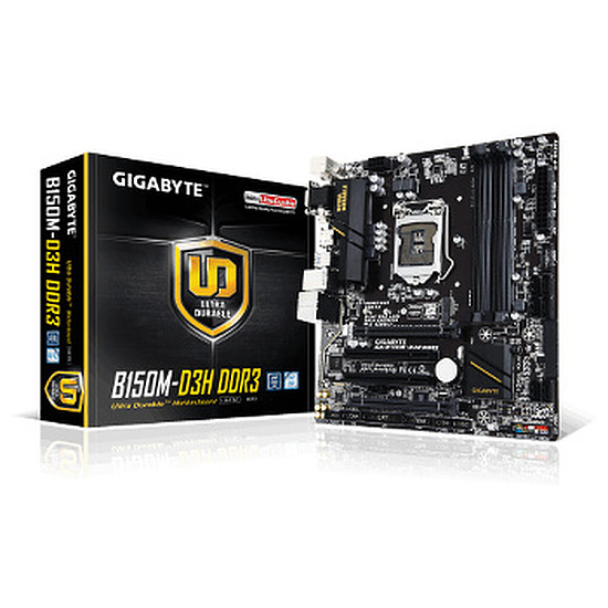 Carte mère Gigabyte GA-B150M-D3H DDR3