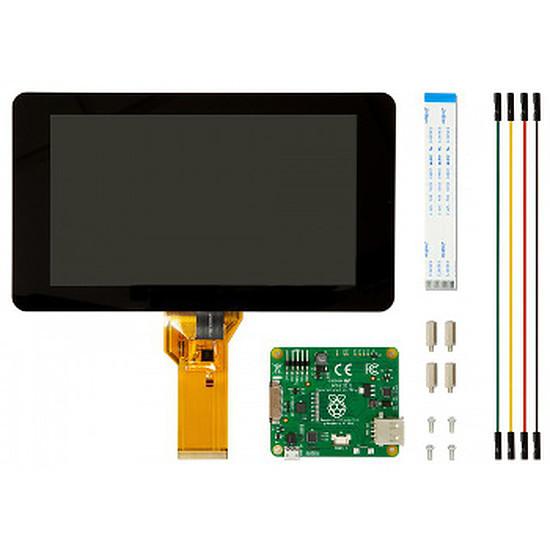 "Raspberry Pi Raspberry Pi Ecran LCD tactile 7"" - Raspberry Pi Touchscreen 7"""