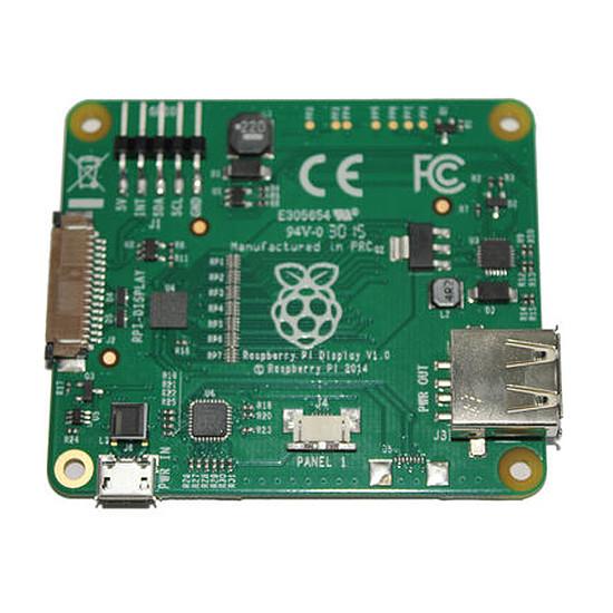 "Raspberry Pi Raspberry Pi Ecran LCD tactile 7"" - Raspberry Pi Touchscreen 7"" - Autre vue"