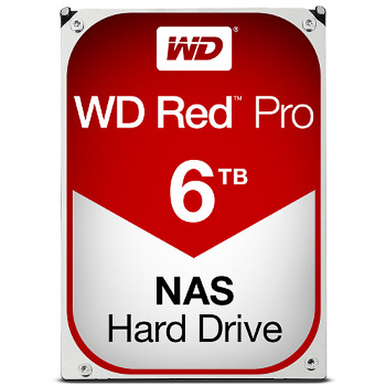 Disque dur interne Western Digital (WD) Red Pro - 6 To