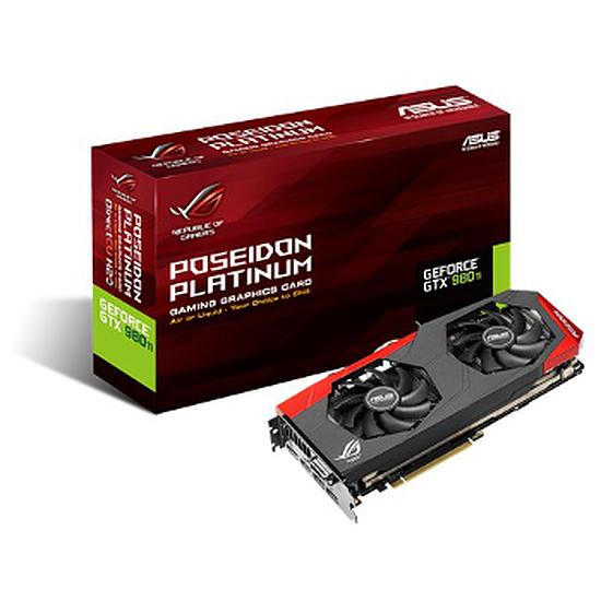 Carte graphique Asus GeForce GTX 980 Ti Poseidon Platinum - 6 Go