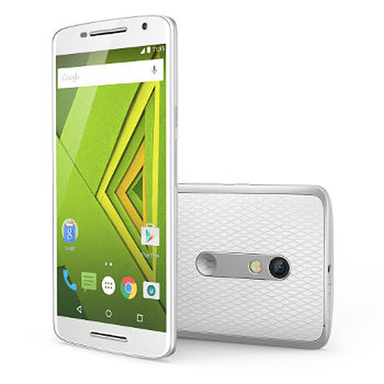 Smartphone et téléphone mobile Motorola Moto X Play (blanc)