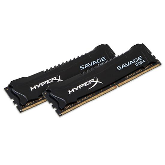 Mémoire Kingston HyperX Savage DDR4 2 x 4 Go 2400 MHz CAS 12