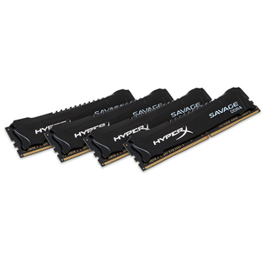 Mémoire Kingston DDR4 4 x 4 Go HyperX Savage 2800 MHz CAS 14