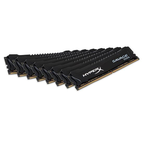 Mémoire Kingston DDR4 8 x 8 Go HyperX Savage 2800 MHz CAS 14