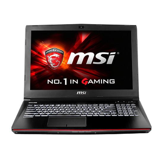PC portable MSI GE62 6QC-028FR - i7 - 8 Go - 1 To - GTX 960M