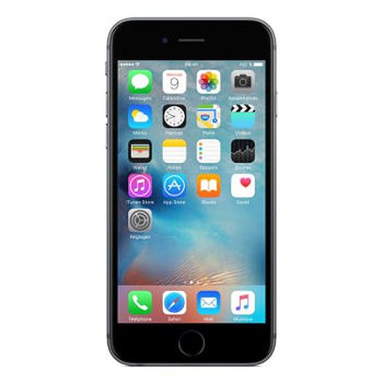 Smartphone et téléphone mobile Apple iPhone 6s (gris sidéral) - 16 Go
